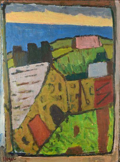 Simon SEGAL (1898 - 1969) - Paysage - Huile...