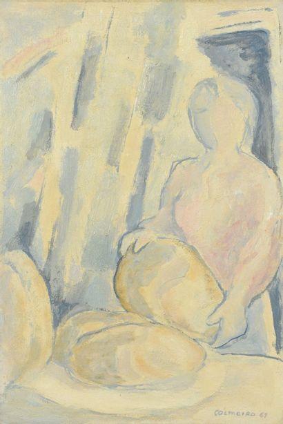 Manuel COLMEIRO (1901 - 1999) - La boulangère,...
