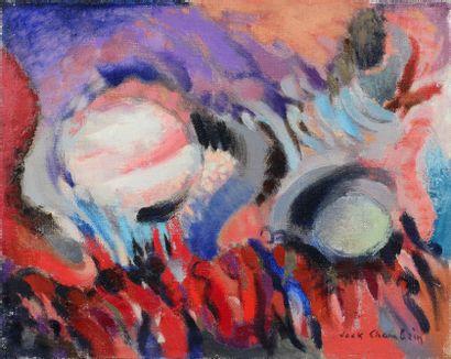 Jack CHAMBRIN (1919 - 1983) - Fête nocturne,...