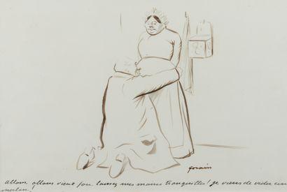 Jean-Louis FORAIN (1852 - 1931) - Allons,...