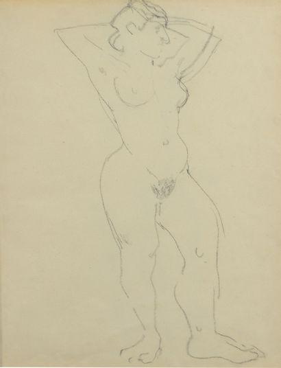 Albert MARQUET (1875 -1947) - Nu féminin...
