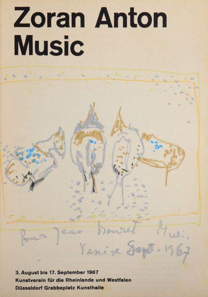Zoran Anton MUSIC. Catalogue d exposition...