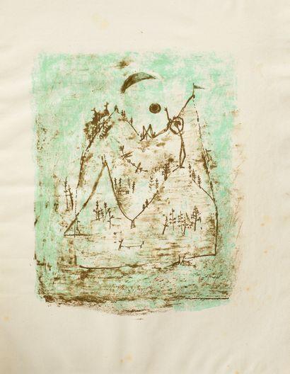 ZAO WOU-KI (1921 - 2013) - Paris Poems. Harry...