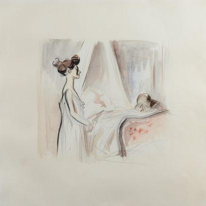 Jean-Louis FORAIN (1852 - 1931) - Déploration...