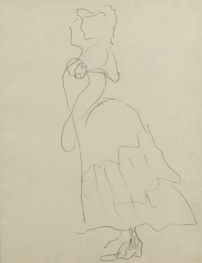 Albert MARQUET (1875 -1947) - La cantatrice...
