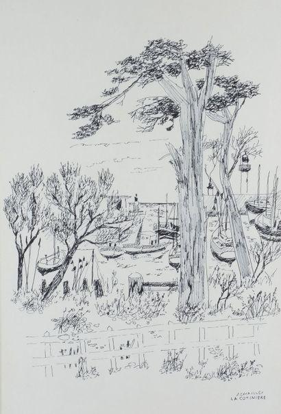 Jules CAVAILLES (1901 - 1977) - La cotinière...