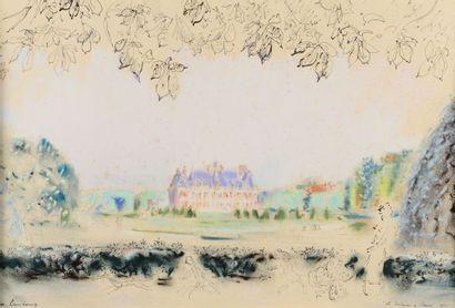 André HAMBOURG (1909 - 1999) - Le printemps...