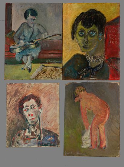 Paul GUILLAUME (1891 - 1934) - Personnages...
