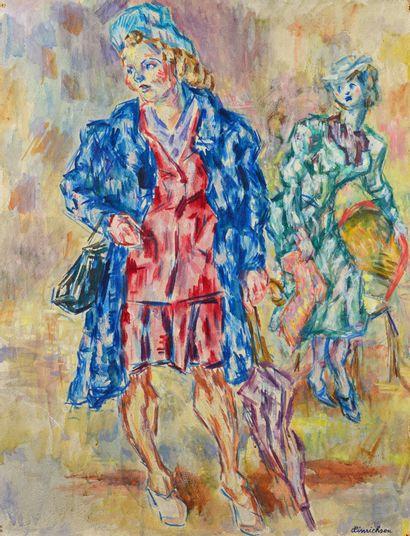 Kurt HINRICHSEN (1901 - 1963) - Les parisiennes...