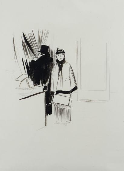 Jean-Louis FORAIN (1852 - 1931) - L arrivée...