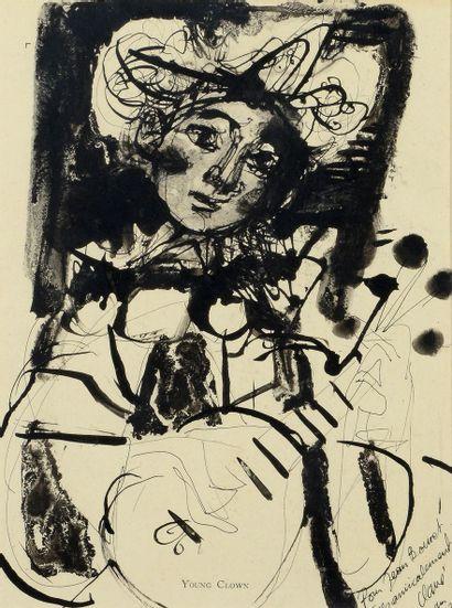Antoni CLAVÉ (1913 - 2005) Young Clown,...
