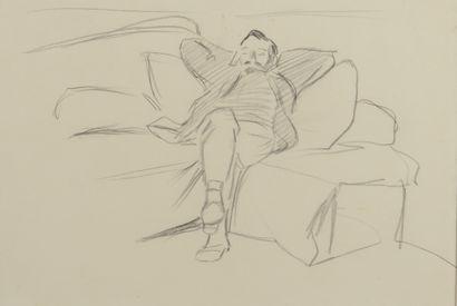 Jean-Louis FORAIN (1852 - 1931) - La sieste...