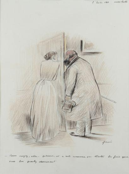 Jean-Louis FORAIN (1852 - 1931) - Vous voyez,...