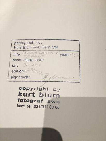 Kurt BLUM. AU milieu des artistes. Exemplaire issu de la seconde édition de tête,...