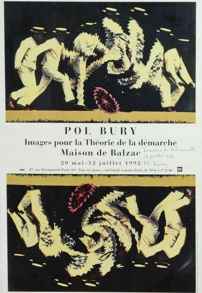 Pol BURY (1922 - 2005) Images pour la Théorie...