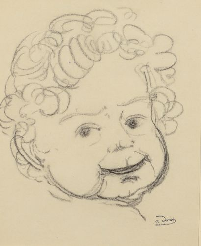 André DERAIN (1880 - 1954) - Portrait de...