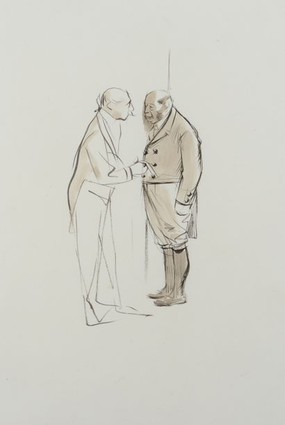 Jean-Louis FORAIN (1852 - 1931) - Monsieur...