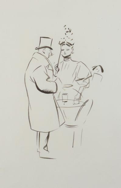 Jean-Louis FORAIN (1852 - 1931) - Lorgnon...