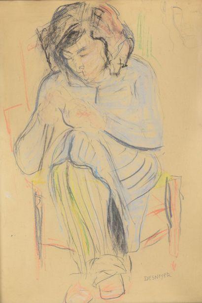 François DESNOYER (1894 -1972) - Portraits...