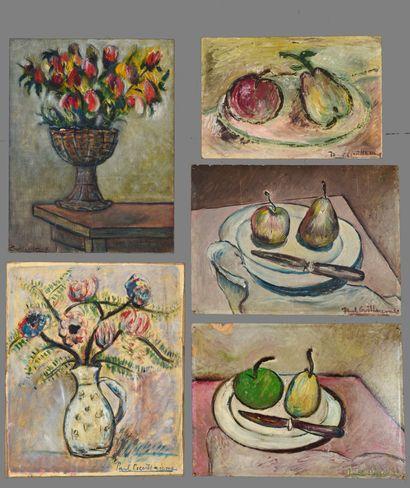 Paul GUILLAUME (1891 - 1934) - Bouquet de...