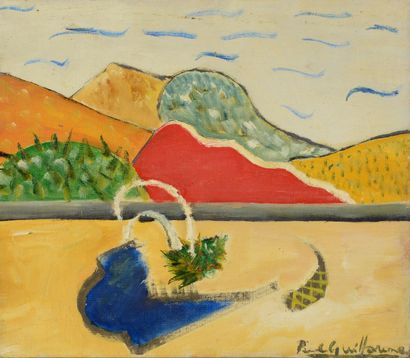 Paul GUILLAUME (1891 - 1942) - Paysage -...