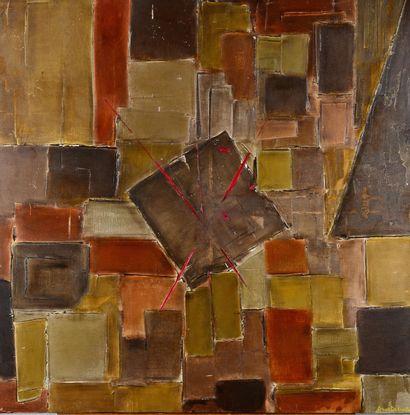 Anne DESNOS - Sans titre - Peinture sur toile,...