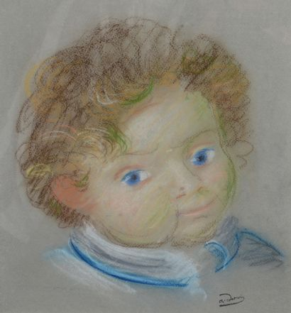 André DERAIN (1880 - 1954) - Boby - Pastel...