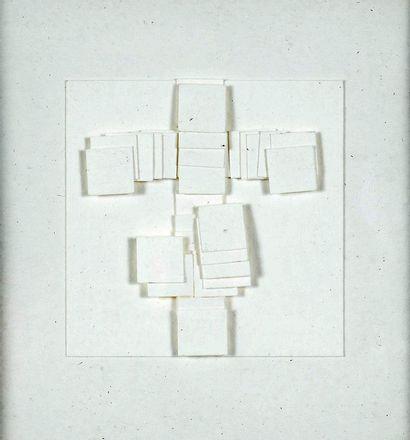 POL BURY (1922 - 2005) - Papiers collés,...