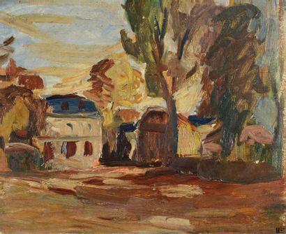 Robert WEHRLIN (1903 - 1964) - La maison...