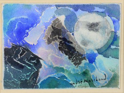 André MARCHAND (1907 - 1997) - Composition...