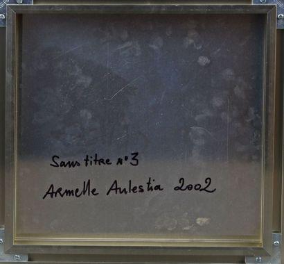Armelle AULESTIA (XXe-XXIe) - Sans titre n° 3 - Snas titre n° 4 - Deux plaques d'aluminium,...