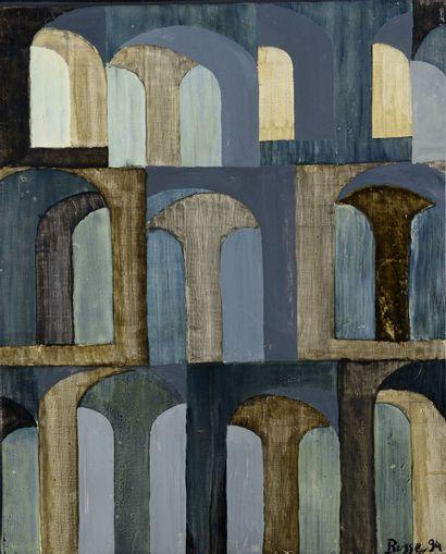 Jacques BUSSE (1922 - 2004) - Caracalla,...