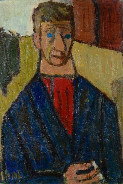 Simon SEGAL (1898 - 1969) - Portrait d'homme...