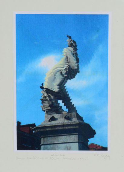 Pol BURY (1922 - 2005) - Venise - Impression...