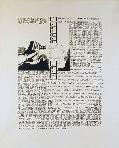 Jean François BORY (Né en 1938) - Un pasage...