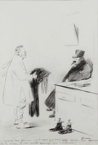 Jean-Louis FORAIN (1852 - 1931) - Quand ma...