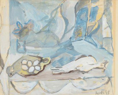 Francisco BORES (1898 - 1972) - Nature morte...