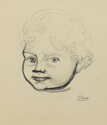 André DERAIN (1880 - 1954) - Boby - Quatre...