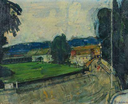 Joseph PRESSMANN (1904 - 1967) - Sur la route...