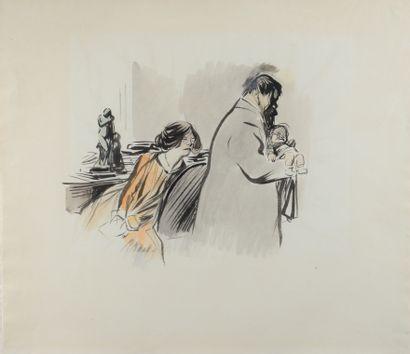 Jean-Louis FORAIN (1852 - 1931) - L enfant...