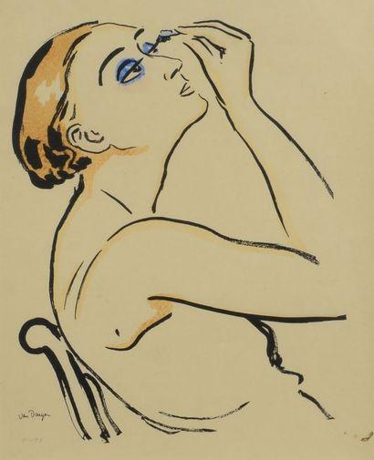 Kees VAN DONGEN (1877 - 1968) - Rimmel. 1920....
