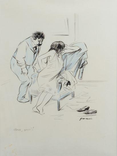 Jean-Louis FORAIN (1852 - 1931) - Alors,...