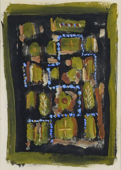 Roger BISSIERE (1886 - 1964) - Sans titre,...