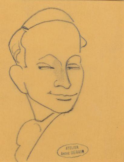 André DERAIN (1880 - 1954) - Portraits divers...
