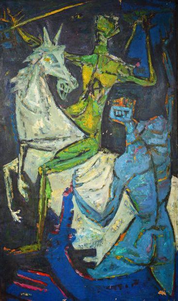 Yvette ALDE (1911 - 1967) - Saint Georges...