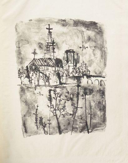 ZAO WOU-KI (1921 - 2013) - Paris Poems. Harry ROSKOLENKO (1907 1980) - 1950. Editions...