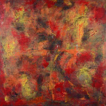 Anne DESNOS Sans titre, 2000 Peinture sur...