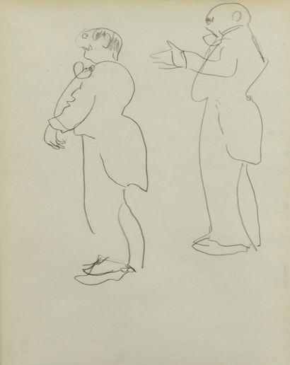 Albert MARQUET (1875 -1947) - Deux études...