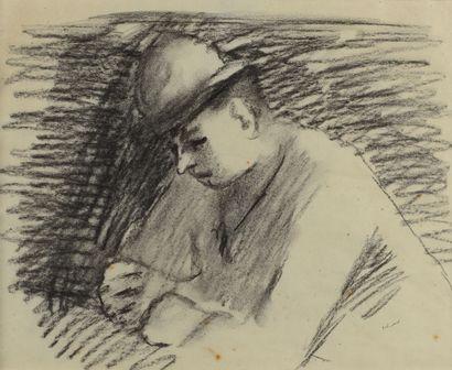 Pierre TAL-COAT (1905 - 1985) - Le chapeau...