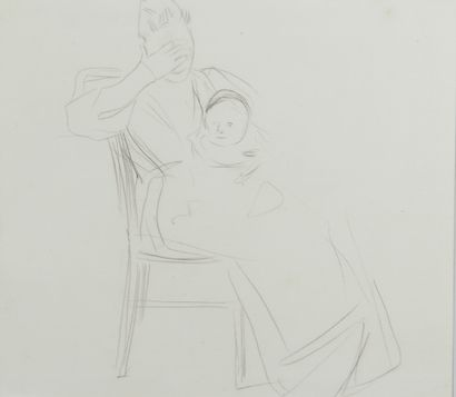 Jean-Louis FORAIN (1852 - 1931) - La mère...